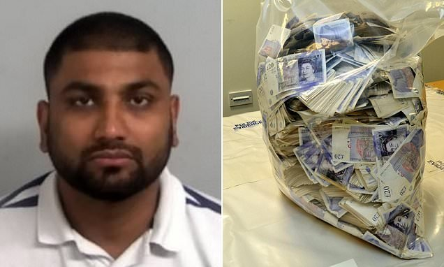 Money launderer has cash confiscated