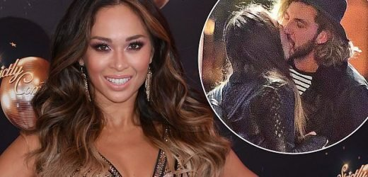 Katya Jones 'AXED' from Strictly after her kiss with Seann Walsh