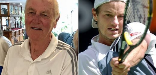 Father of tennis prodigy dies six months after his son was found dead