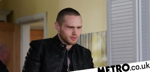 Sex shock for Keanu Taylor and Louise Mitchell in EastEnders tonight