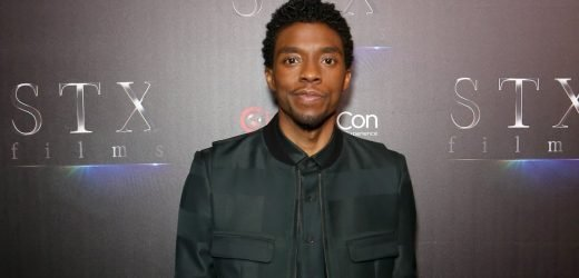 Chadwick Boseman Attends CinemaCon to Promote His New Film
