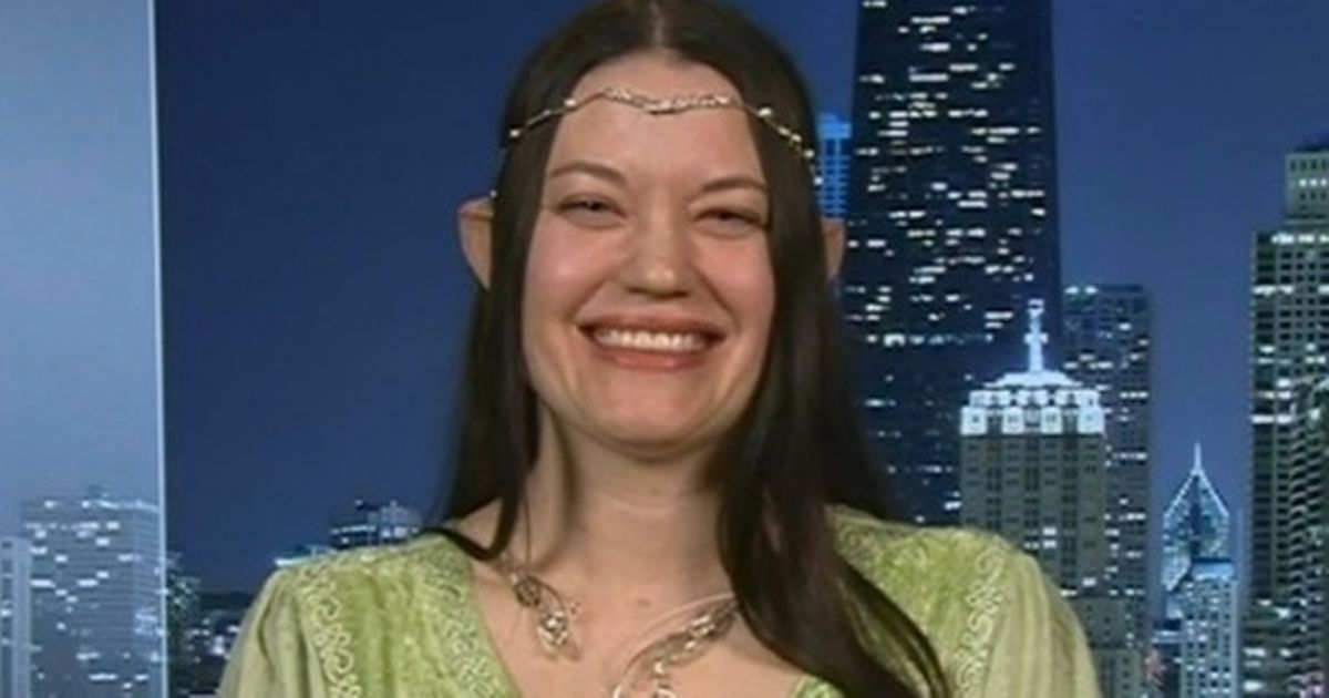 'Transpecies' woman who says she's an elf baffles GMB fans with 'Otherkin' life