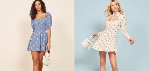 Perfect For Petite Frames, These 95 Spring Dresses Are Fitted and Flattering