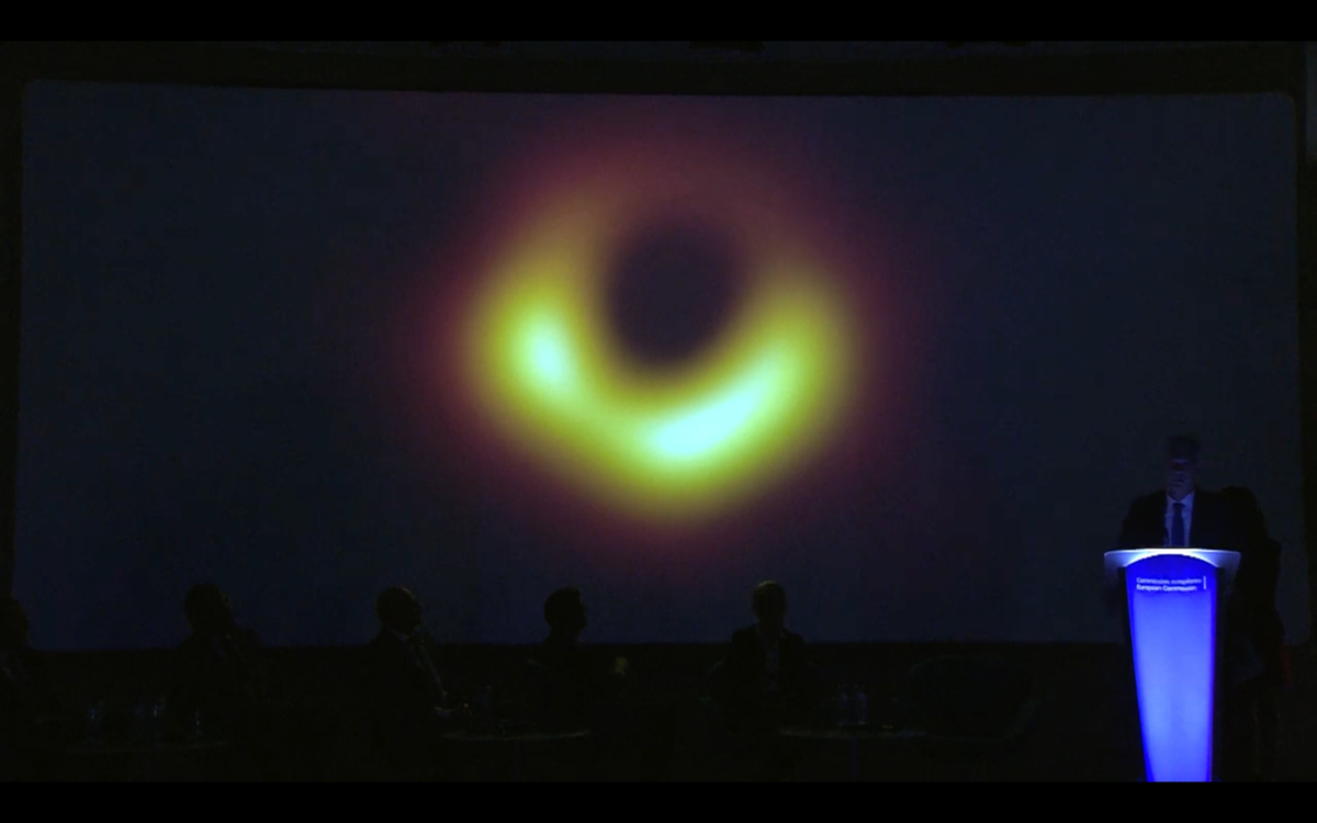 You Can See The First-Ever Image Of A Black Hole On This Live Stream