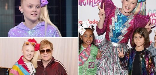 How Jojo Siwa, 16, who's BFFs with the Kardashian kids, became the YouTube dance star every schoolgirl wants to be thanks to her famous colourful bows