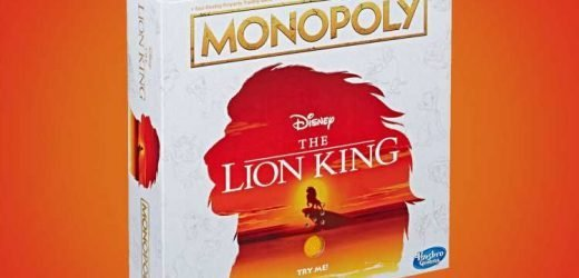 Lion King Monopoly now exists and it even comes with a mini pride rock