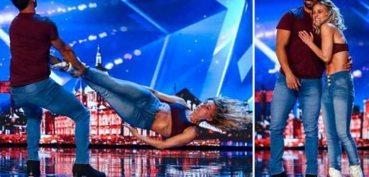 Britain's Got Talent viewers refuse to believe couple have only been rollerblading for three months after incredible performance