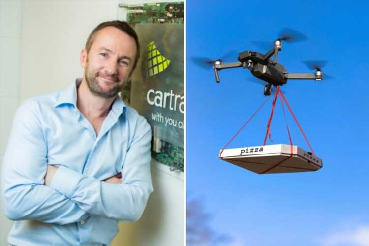 Drones could deliver takeaways in Ireland as soon as next year as millionaire plans to fly to your home at 75mph