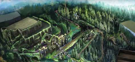 First Look at the Realistic 'Magical Creatures' of Hagrid's Motorbike Ride Opening Soon at The Wizarding World of Harry Potter