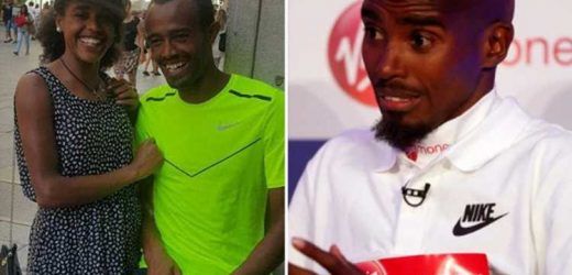 Runner claims Sir Mo Farah 'punched him in neck' in fight at Haile Gebrselassie's hotel gym just days before London Marathon