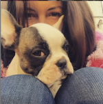 EastEnders' Lacey Turner 'heartbroken' as adorable French bulldog Reggie dies