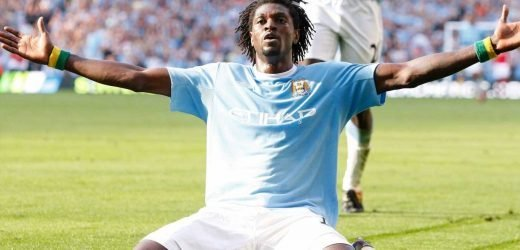 Adebayor reveals Man City celebration against Arsenal came after racist abuse