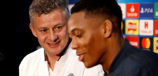 Solskjaer holds showdown talks with Martial after poor run of form since signing new £250,000 five-year deal