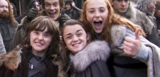 Game Of Thrones Sophie Turner posts incredible on-set throwback pic – and the cast looks SO young
