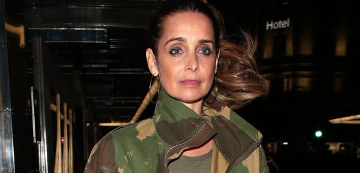 Louise Redknapp tells Chris Evans Virgin Radio Breakfast Show ex Jamie ruins her only day off work by forcing her to take their sons to rugby training