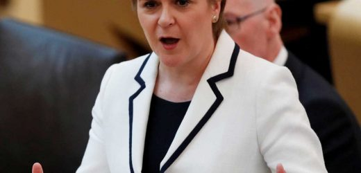 Nicola Sturgeon slapped down by No10 after she vows to hold new referendum on Scottish independence