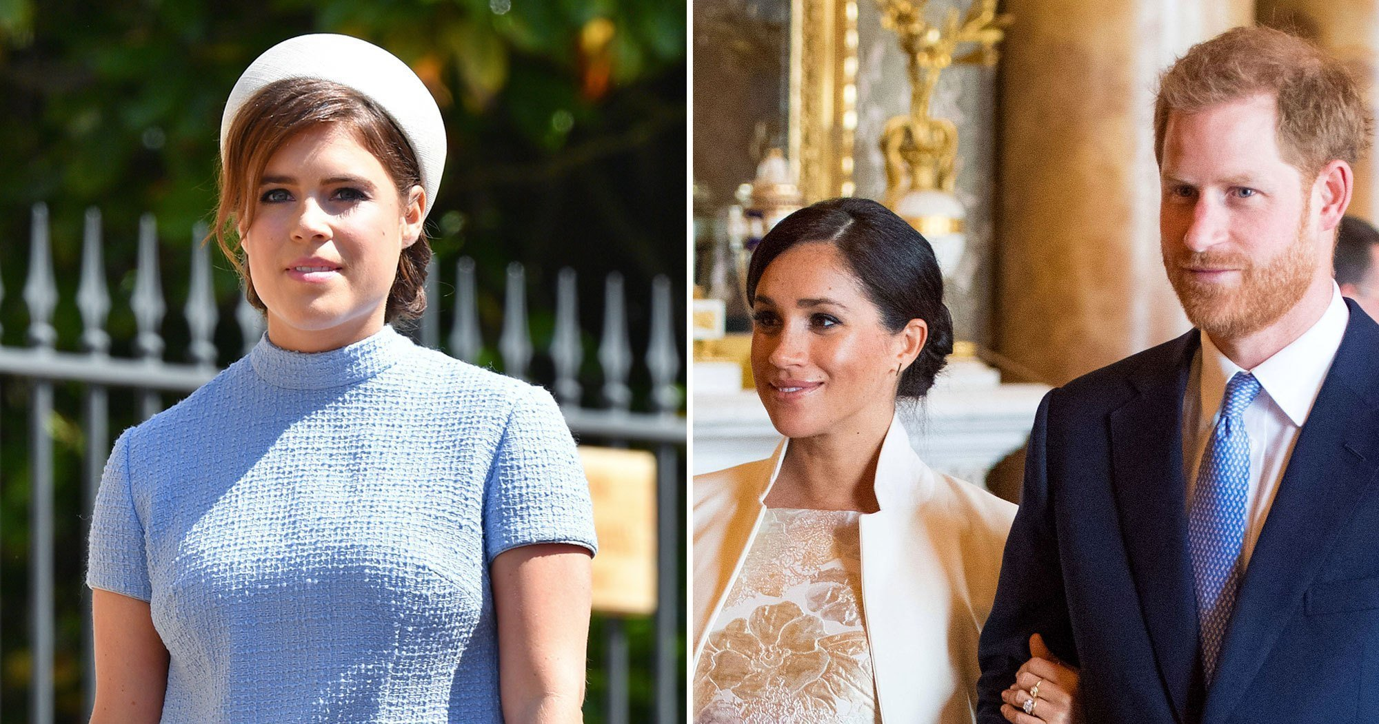 Family Affair! Eugenie Welcomes 'Cousins' Harry and Meghan to Instagram