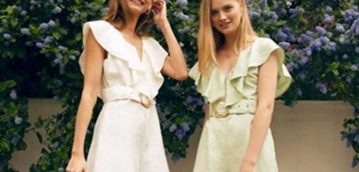 Topshop launch £35 Riviera frill playsuit for this week's Topshop Loves