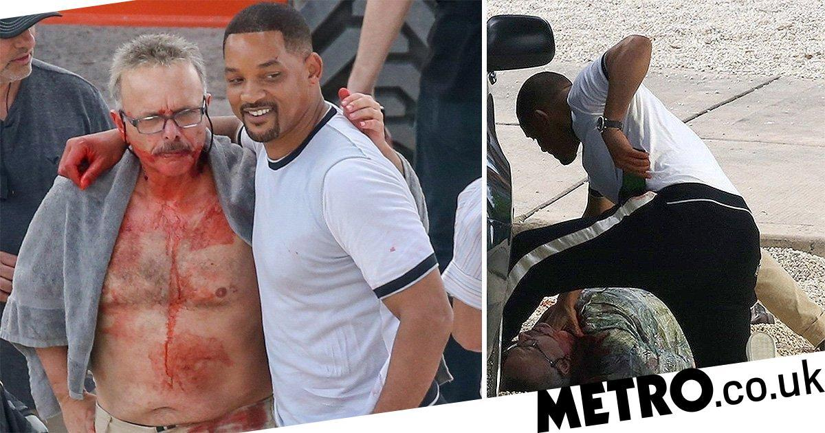 It doesn't look good for Will Smith and Joe Pantoliano on Bad Boys For Life set