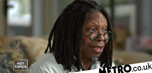 Whoopi Goldberg hospitalised again after near-fatal battle with pneumonia