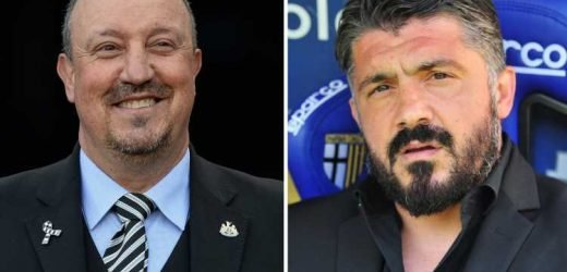 Milan boss Gennaro Gattuso 'offered Newcastle job' if Rafa Benitez leaves after lunch with super agent Jorge Mendes