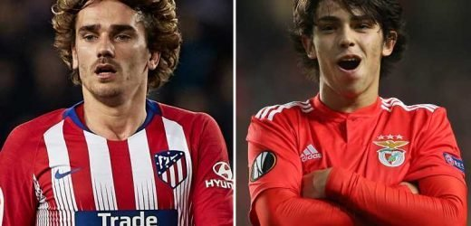 Man Utd dealt blow with Atletico 'willing to sell Griezmann to fund Felix swoop' in transfer window