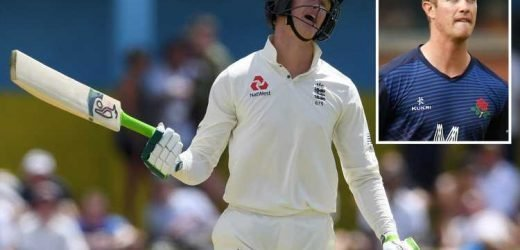 England's Keaton Jennings reveals 'some nights I lay in bed bawling my eyes out' as he admits criticism is 'tough to handle' ahead of Ashes