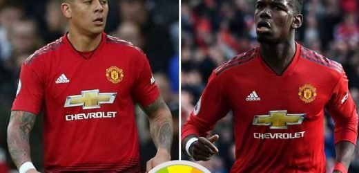 Man Utd player ratings: Paul Pogba impressed with his double but it was an evening to forget for Marcos Rojo in West Ham win