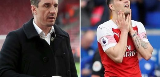 Man Utd, Chelsea, Spurs and Arsenal 'look stupid' says Gary Neville with Man City and Liverpool form shaming their rivals