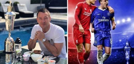 John Terry deletes post congratulating Van Dijk on PFA Player of the Year win… before uploading new version