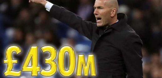 Zidane to have £430m war chest to begin new Galacticos era – with Pogba and Hazard top of transfer wish list