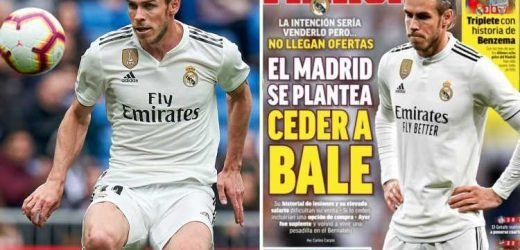 Real Madrid 'planning to LOAN out Bale next season as no offers have arrived for flop winger yet' say Spanish reports