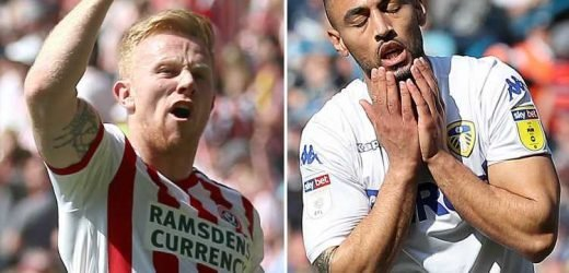 Leeds choke with shock loss to 10-man Wigan as Sheffield United go second on hectic day in the Championship