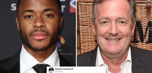 Raheem Sterling brilliantly sidesteps Piers Morgan pleas for him to join Arsenal during Twitter love-in
