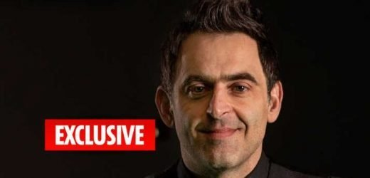 Ronnie O'Sullivan claims he's happy to get KO'd in world champ first round