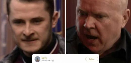 EastEnders fans beg Phil Mitchell to KILL his own son Ben after he kidnaps Louise