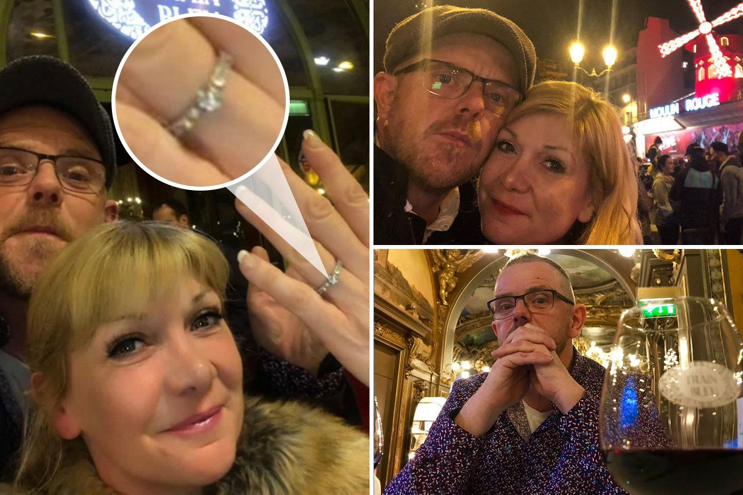 Inside Liam Fox's romantic Paris proposal to Emmerdale's Jo Hudson at posh restaurant and Moulin Rouge sight-seeing