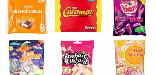 Poundland brings back retro sweets including Caramac and Flying Saucers – and they cost £1 each