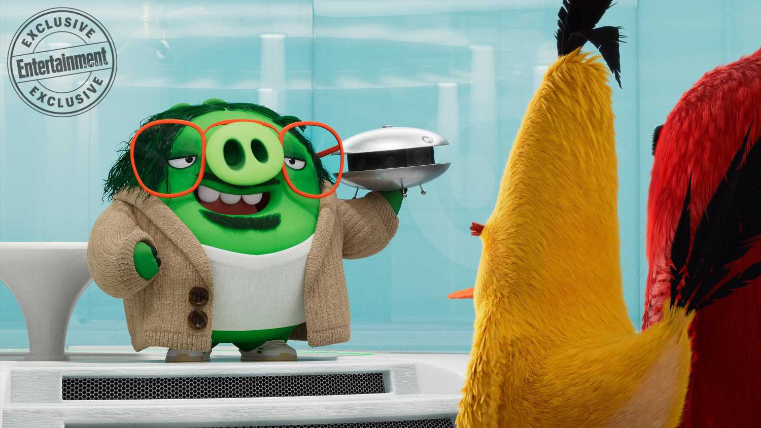 Angry Birds Movie 2 turns Sterling K. Brown into piggy Q from James Bond