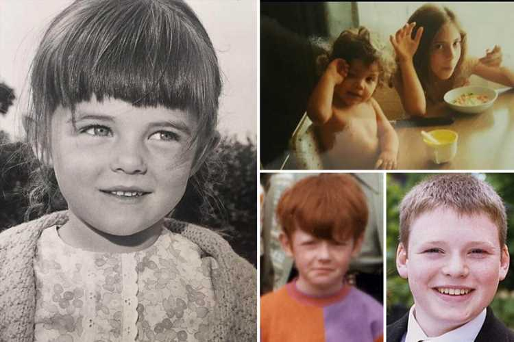 Can YOU guess the celebrity from their childhood snap in our tricky quiz?