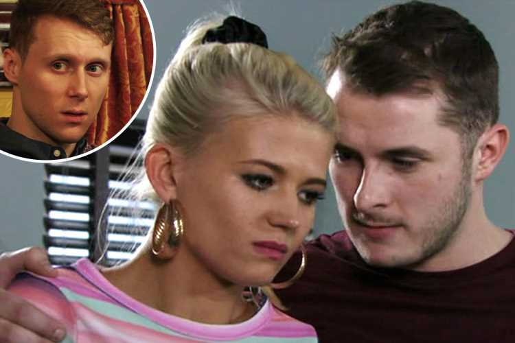 EastEnders fans disgusted as Ben Mitchell tells Jay that Lola is engaged – and fans think she will destroy him