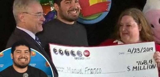 Powerball lottery winner who scooped £600 MILLION named as 24-year-old man from Wisconsin