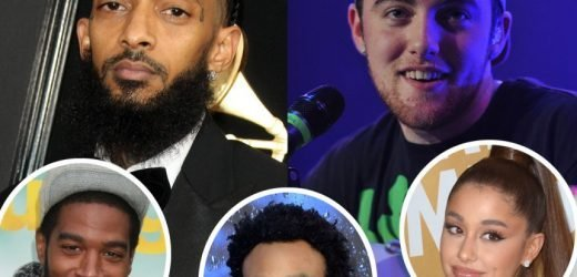 Ariana Grande, Childish Gambino, Kid Cudi & More Pay Tribute To Mac Miller & Nipsey Hussle During Co