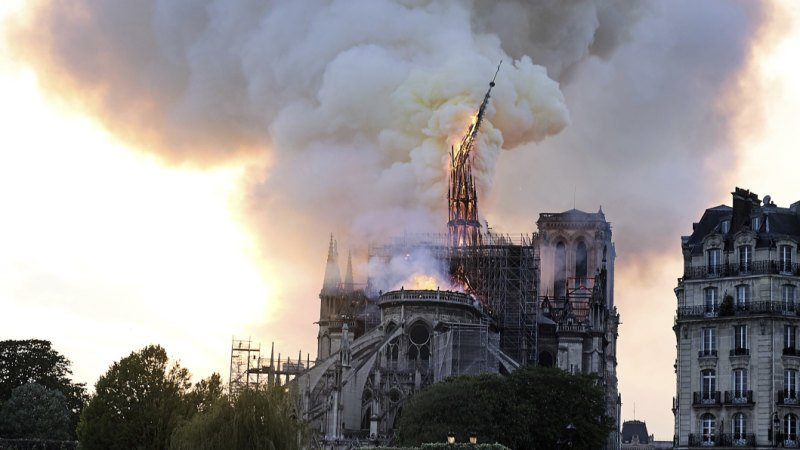 Notre-Dame: People are weeping in the streets. I weep with them.