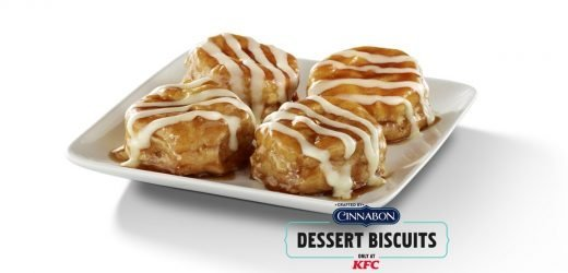 KFC's New Cinnabon Dessert Biscuits Are A Sweet End To Your Meal