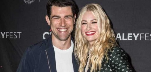 Beth Behrs Gave Max Greenfield a Guitar and Now He's 'Trying to Be Like Bradley Cooper'
