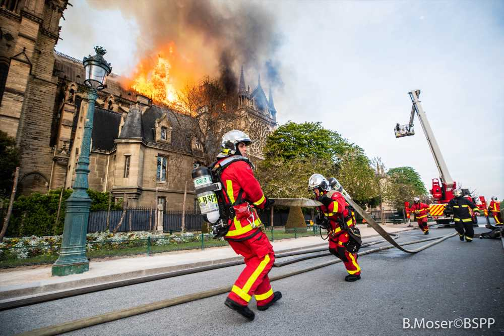 France to honor firefighters who saved Notre Dame cathedral