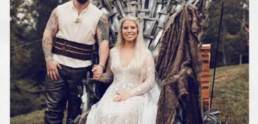 Kentucky Welder Builds Massive 200 Lb. Game of Thrones Throne for Wife in Sweet Wedding Present