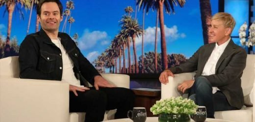 Bill Hader Tells 'Ellen' He Was 'Forced' To Work Out for 'Barry' Role – Watch Here!