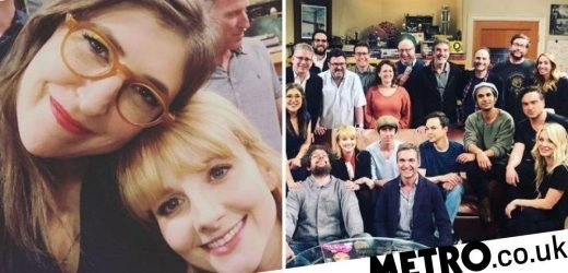 Big Bang Theory's Melissa Rauch's super emotional BTS pics of last table read